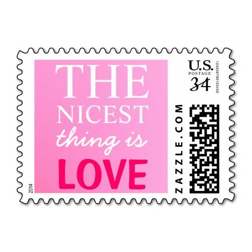 The Nicest Thing Is Love Postage