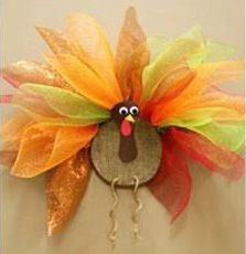Geo Mesh Wreath Instructions | Make your own Geo Mesh Turkey Wreath by following these simple step-by ...