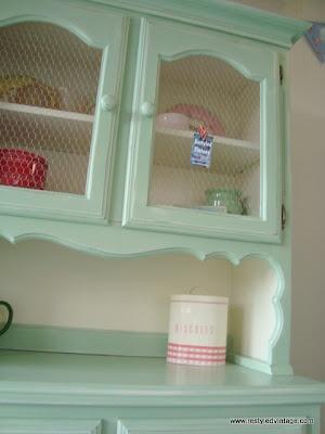 Restyled dresser