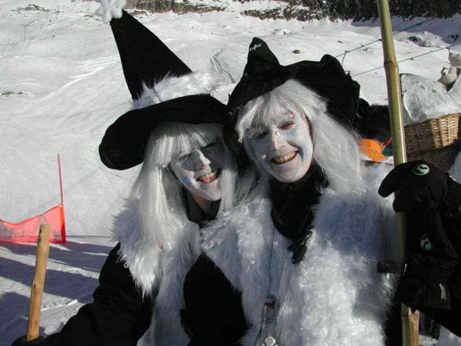 Belalp Hexe Swiss festival: The witches of Blatten-Belalp  #switzerland #blattenbelalp #witch #festival #snow #ski #fun #adventure #interesting #travel #traveltherenext