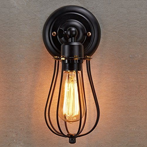 Black Industrial Wall Sconces : 1000+ ideas about Wall Sconces on Pinterest Insulator lights, Sconces and Home decor