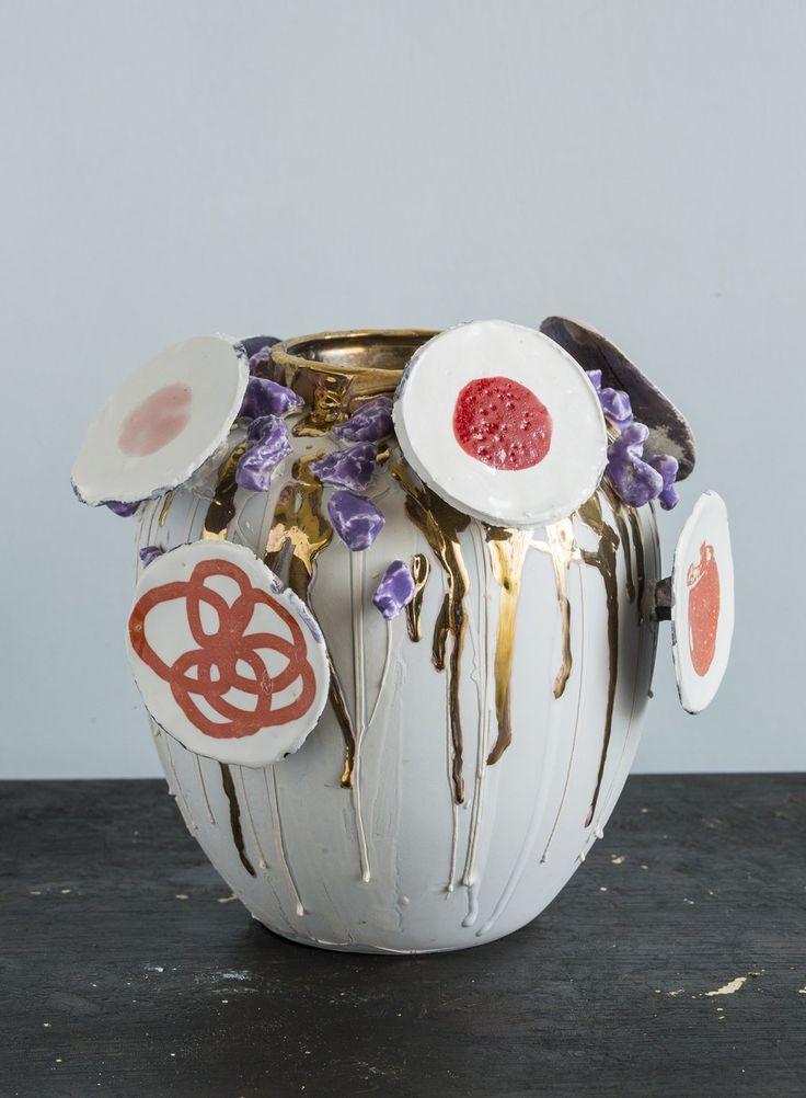 Porcelain vase By Corala Maiuri