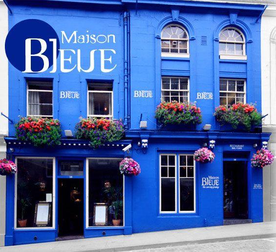Maison Bleue french restaurant, 36-38 Victoria Street, Edinburgh (Grassmarket) - fantastic
