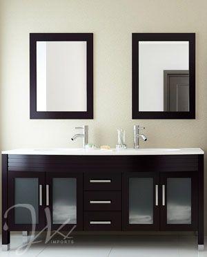 184 best Modern Vanities images on Pinterest Bath vanities