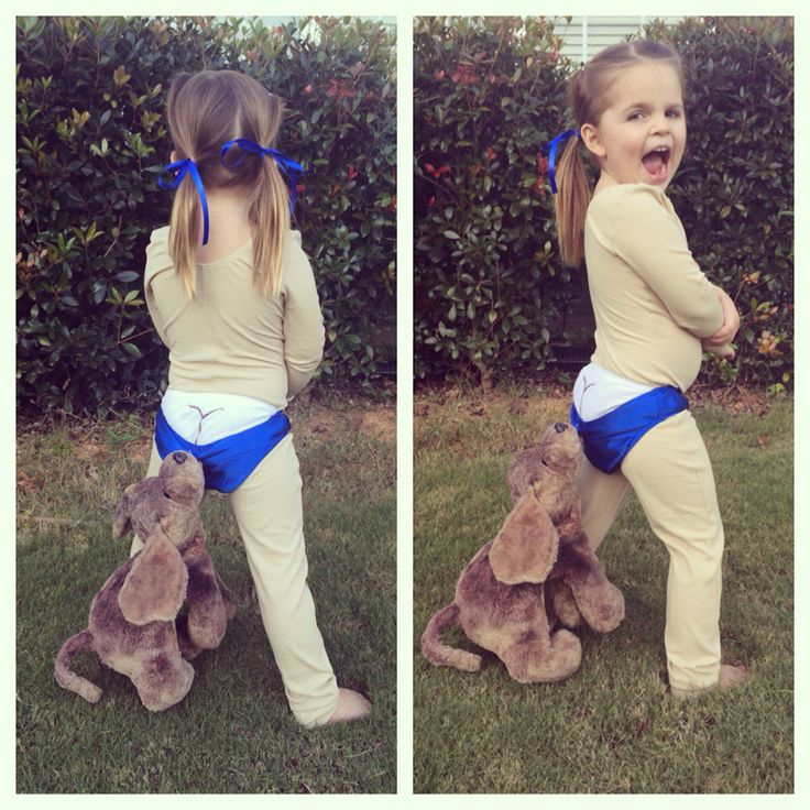 Diy Creative Halloween Costume Coppertone Baby Kids