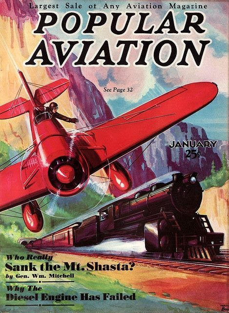 Popular Aviation Magazine (1927-1946) The largest aviation magazine, with a circulation of 100,000 in 1929. The magazine's title became Aeronautics in June 1929 and the publishing company's name became Aeronautical Publications, Inc. The title was changed back to Popular Aviation in July 1930. The magazine became Flying in 1942 and is still published today by the Bonnier Corporation. The magazine celebrated its 80th anniversary in 2007.