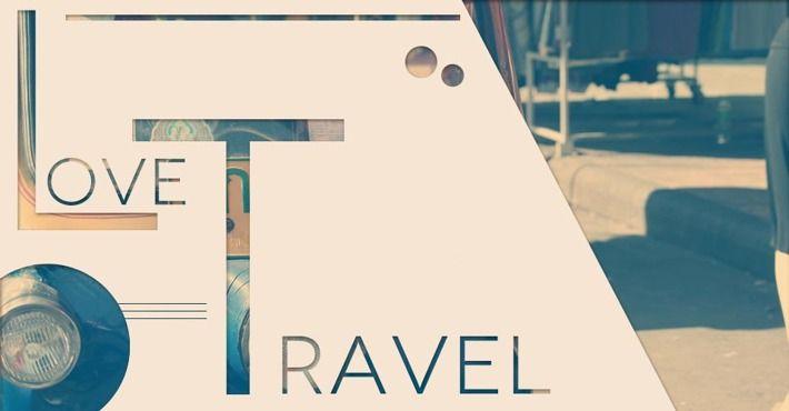 Love Travel by Francisco Campos, via Behance