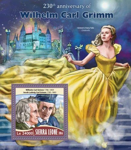 SRL16720b 230th anniversary of Wilhelm Carl Grimm (Wilhelm Carl Grimm (1786–1859), Jacob Ludwig Carl Grimm (1785–1863))