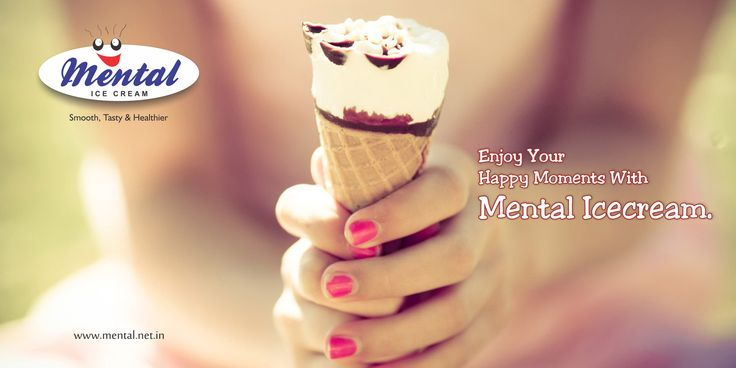 Crazy happiness is one of the thing which is necessary in everyone's life. So, enjoy your happy moments with Mental Ice cream. ‪#‎Icecream‬ ‪#‎Enjoy‬ ‪#‎mental_icecream‬ ‪#‎Happy_moments‬