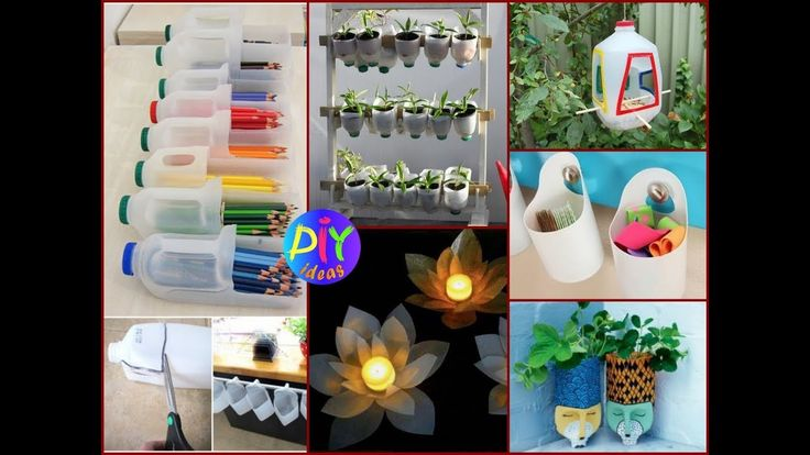 Best 25 plastic milk bottles ideas on pinterest for Creative use of waste plastic bottles