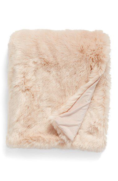Nordstrom at Home Nordstrom at Home Cuddle Up Faux Fur Throw Blanket available at #Nordstrom