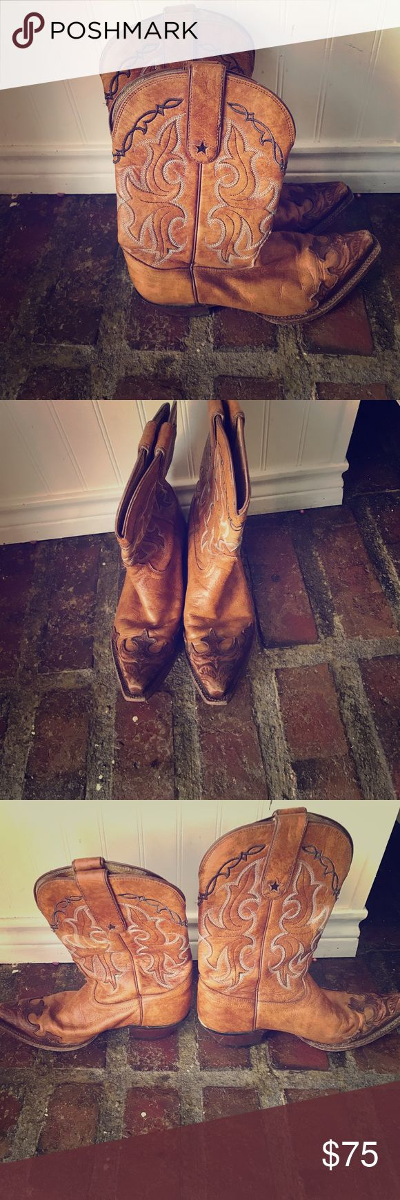 Tony Lama boots Great condition cowboy boots!! Offers welcome:) Shoes Heeled Boots