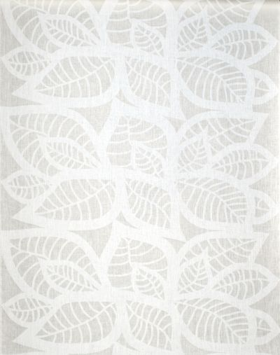 Mairo white Hosta fabric. Designed by Linda Svensson Edevint.