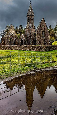 Ruins of the old church, Tourmakeady, County Mayo - photo courtesy of A.I Photography