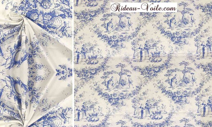 109 best images about toile de jouy inspiration on pinterest toile habitats and curtains. Black Bedroom Furniture Sets. Home Design Ideas