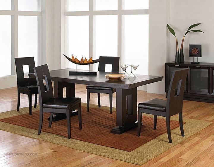 Black Modern Dining Room Sets