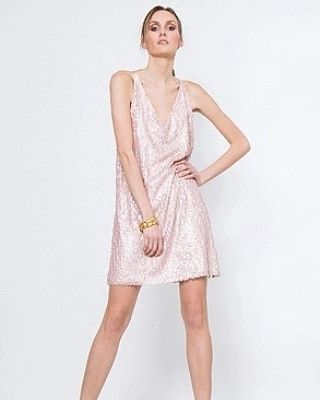 sequins dress by Eleria Cortes in boutique Papa k Froufrou