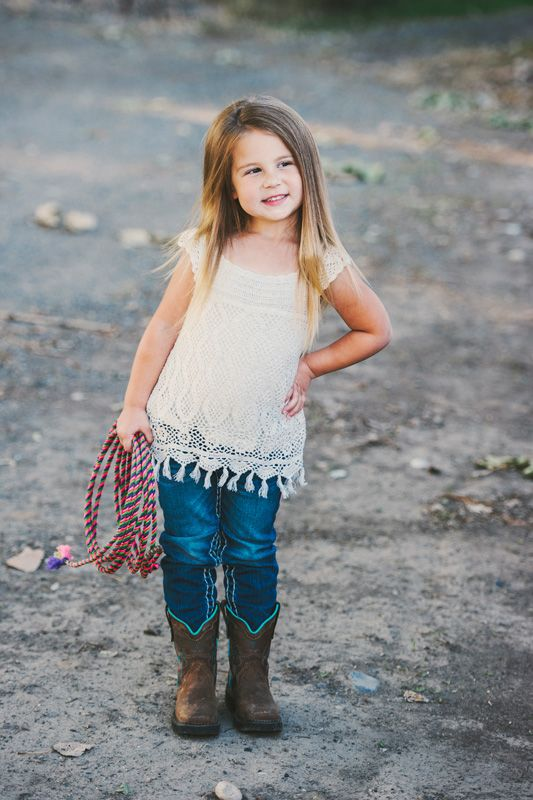 Love this Little Cowgirl outfit!