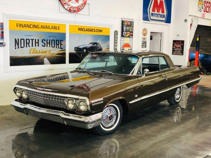 Used 1963 Chevrolet Impala -SS BUCKETS RESTORED NUMBERS MATCH 327 4 SPEED-MINT-V… – One Stop Classic Car News and Tips