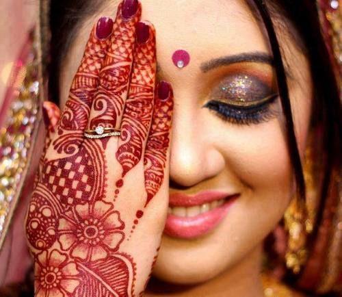 #indianbride #mehendi