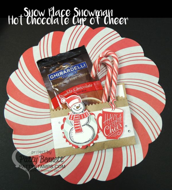 Stampin Up Christmas Craft Fair Ideas Part - 41: Snow Place Snowman Cup Of Cheer Hot Chocolate DIY Gift Packet For The  Holidays. Stampin · Christmas Craft FairChristmas ...