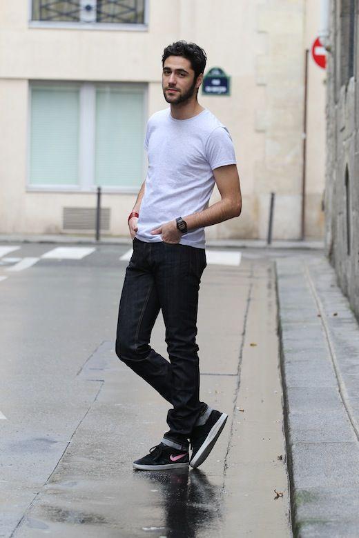 Dress style for skinny guys