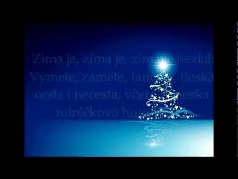 Hana Zagorová-Zima, zima, zima text - YouTube