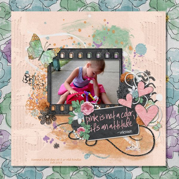 Kit is COLOUR POP, Created by Jill