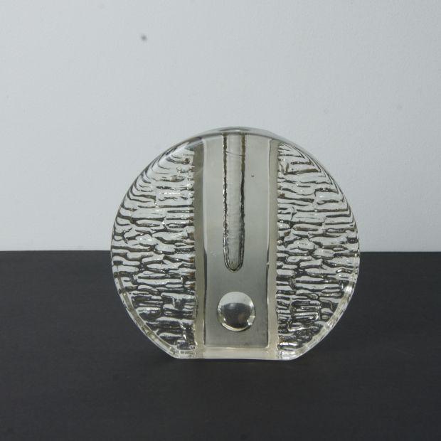 "Wazon ""Wheel"" Solifleur, Walther Glas, Niemcy, lata 60.   ""Wheel"" vase Solifleur, Walther Glas, Germany, 60s.   buy on Patyna.pl   #forsale #vintage #vintagefinds #vintageshop #vintagelove #retro #old #design #home #midcenturymodern #want #amazing #home #inspiration #kitchen #decoration #furniture #Wheel #vase #glass #transparent #Solifleur #WaltherGlas #German #Germany #60s #1960s #Loft66"
