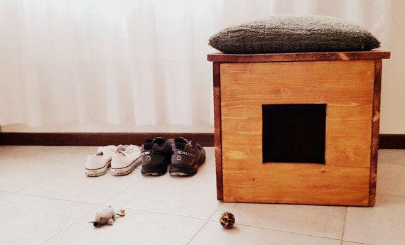 Https Www Etsy Com Listing  Cat Litter Box Cover Pet Furniture Cat