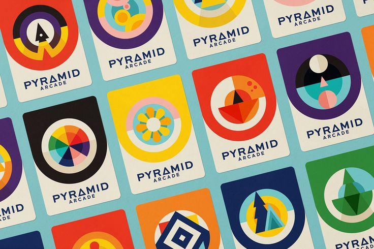 Pyramid Arcade2016 | Branding, Print, Packaging