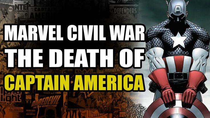 Marvel Comics Civil War: The Death of Captain America - The Winter Soldier