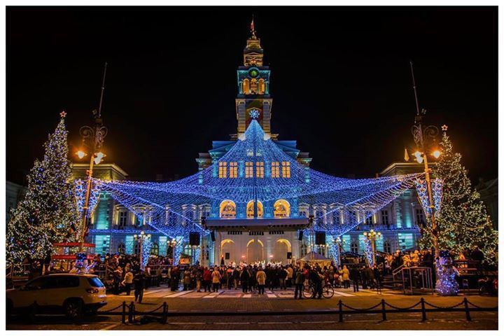 Arad, Romania. The most beautiful Christmas fair. #littlevienna