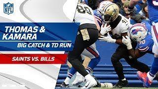 Drew Brees Huge Pass to Michael Thomas Sets Up Alvin Kamaras TD! | Saints vs. Bills | NFL Wk 10