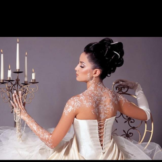 White Wedding Dress With Henna: 1000+ Images About White Tattoos & White Henna Tattoos On