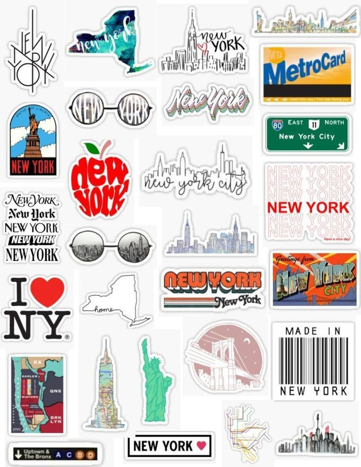 New York Aufkleber Handy Aufkleber Handy York Phone