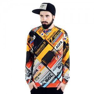 Bluza Oversize Hipster z nadrukiem KLISZE unisex