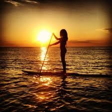 Drifting on a Drift Paddleboard in the sunset..beautiful!!