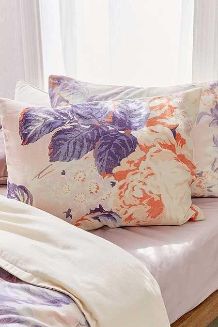 Cabbage Rose Pillowcase Set