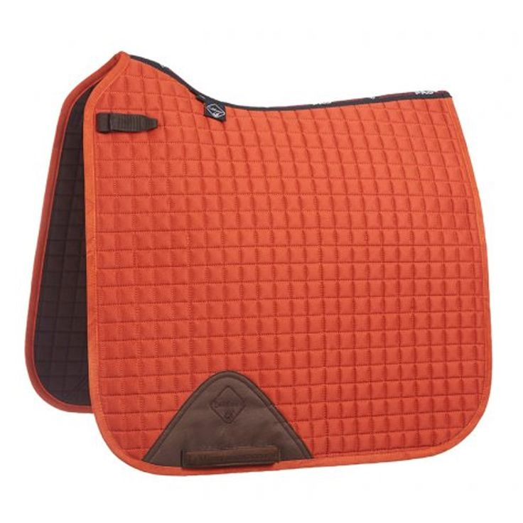 LeMieux burnt orange dressage square