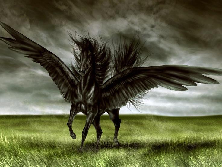 Mitologia Grega: Pégasus o cavalo alado (criatura)