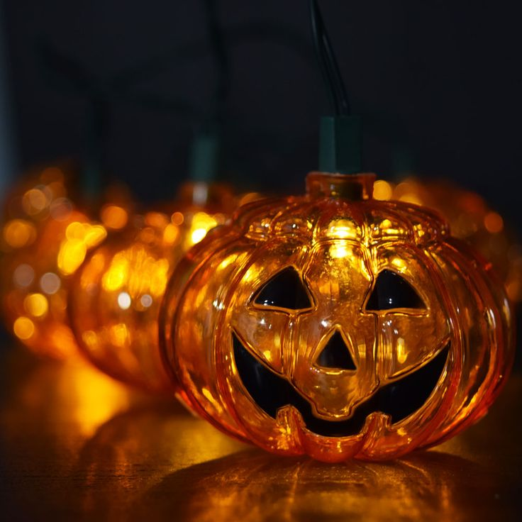 light it up with pumpkin string lights halloween ideas decor