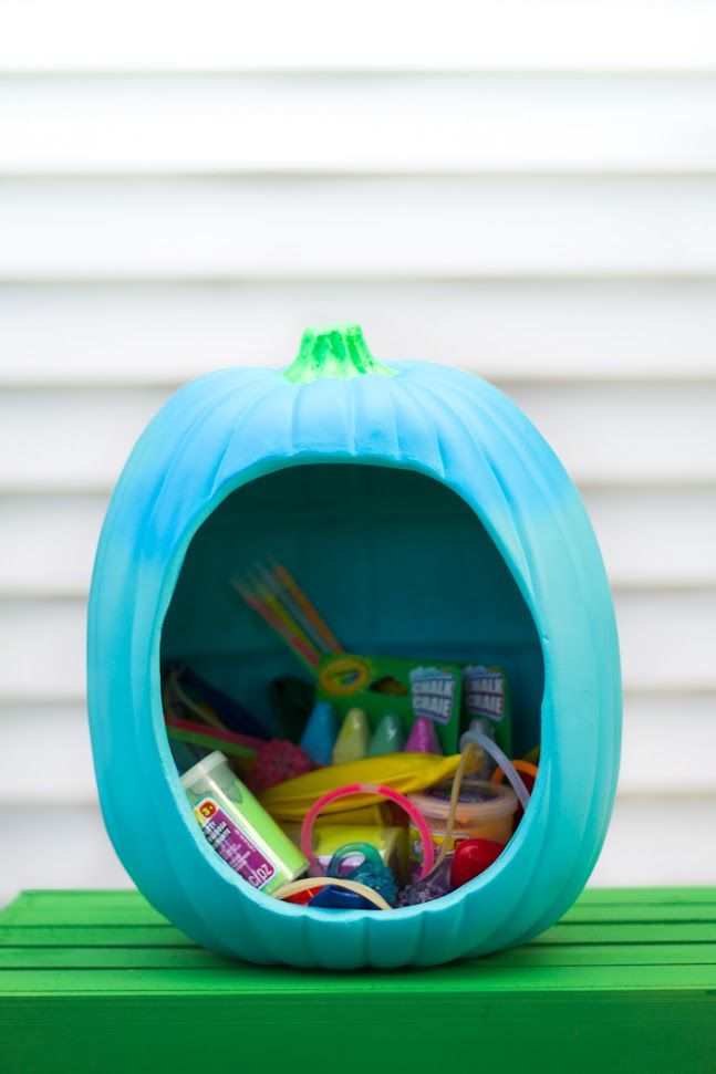 food free halloween ideas teal pumpkin project treat bowl tealpumpkinproject