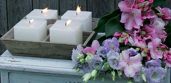 Finca-Kerze Outdoor in weiß von Engels in 3 Größen - gefunden im #KONTOR1710