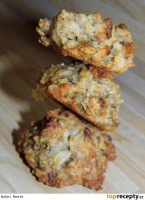 Domácí ovesné sušenky s hromadou semínek