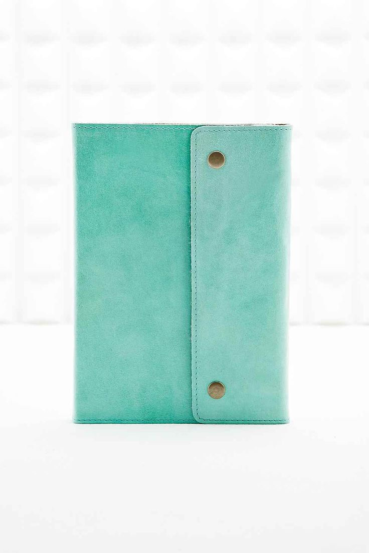 Oh Snap - Calepin en cuir menthe - Urban Outfitters 35E