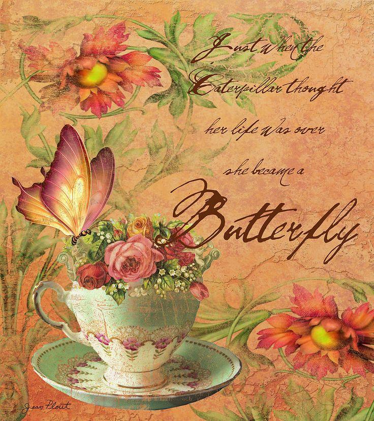 Butterfly Inspirations Digital Art  - Butterfly Inspirations Fine Art Print
