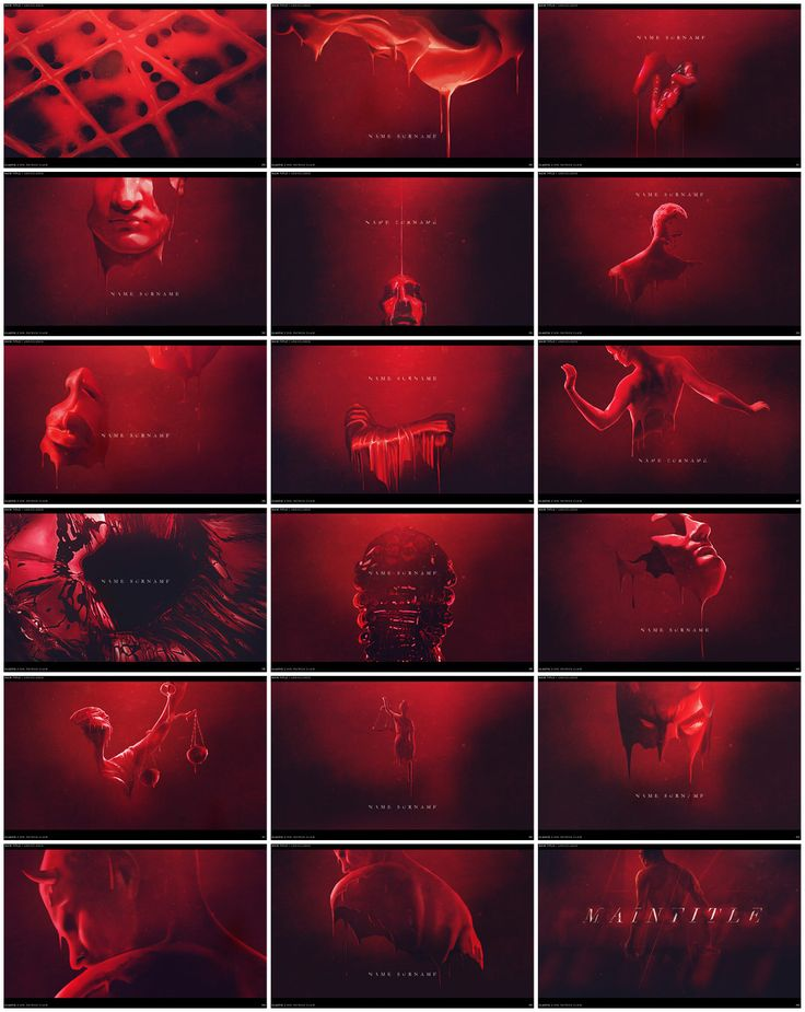 Design boards from Daredevil (2015) opening sequence from Art of the Title Interview created by Elastic.