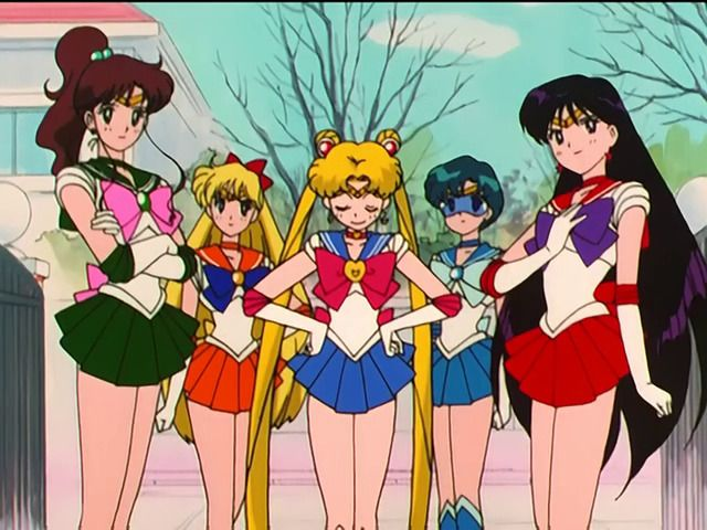 Image About Lesbian In Sailor Moon By Shana