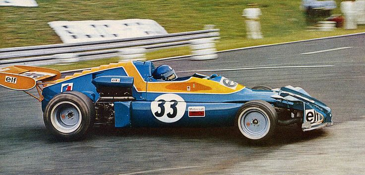 Patrick Depailler - Elf 2 (Alpine A367) BMW - Elf Coombs Racing in Nouveau Monde hairpin - XXI Grand Prix de Rouen 1973